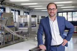 Germar Wacker will lead the new segment Consumer Foods © Bühler Group