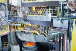 EAF Quantum electric arc furnace from Primetals Technologies © Primetals Technologies