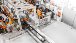 KUKA PULSE is a linear conveyor system. © KUKA